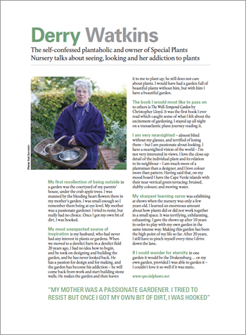 Garden Design Journal - April 2016