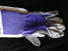 Thin Purple Gardening Gloves