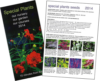 Seed Catalogue 2014